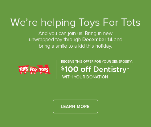 Green Valley Ranch Modern Smiles and Orthodontics - Toys For Tots