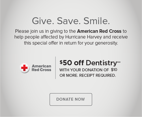 Green Valley Ranch Modern Smiles and Orthodontics - Donate Red Cross® Hurricane Harvey